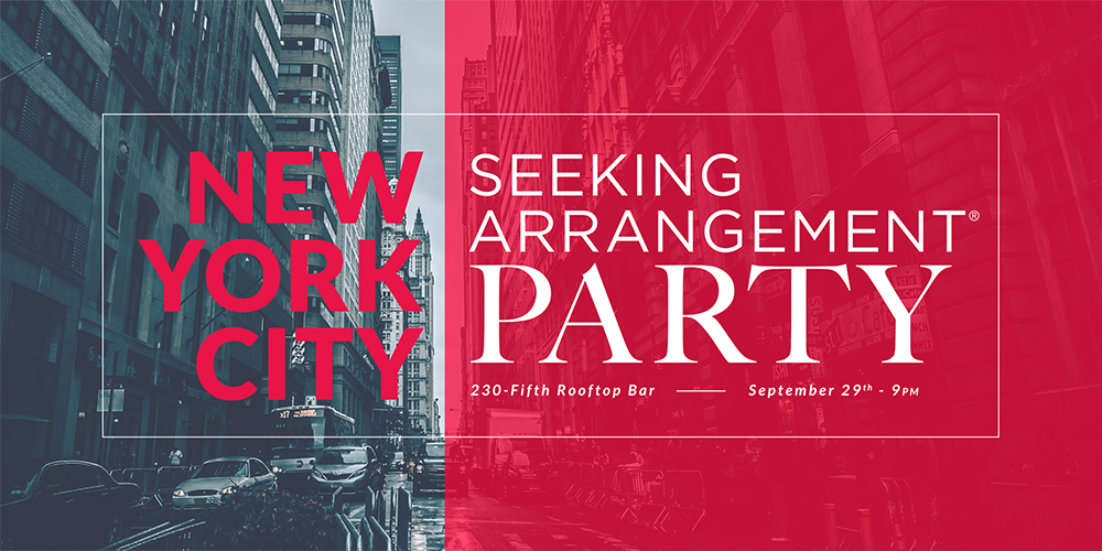 SeekingArrangement Party NYC 2017